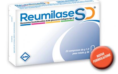 Reumilase SD: collagene oraleper controllare i sintomi dell'artrosi