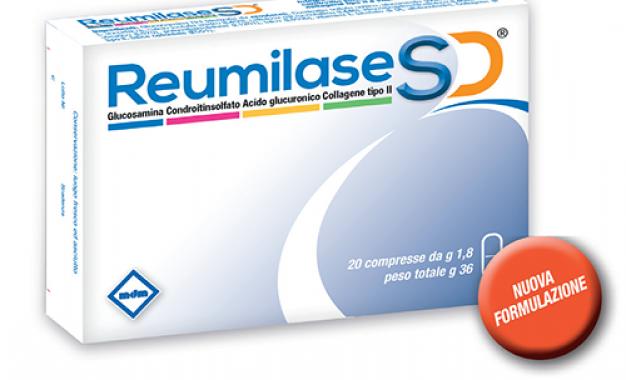 Reumilase SD: collagene orale<br />per controllare i sintomi dell&#8217;artrosi