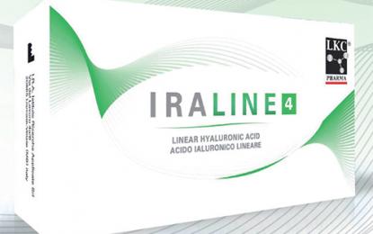 Iraline, la terapia intrarticolare  con acido ialuronico lineare