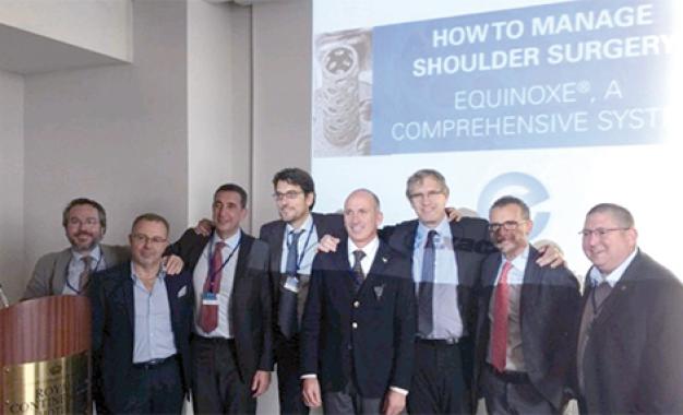 Protesi di spalla, cinque anni <br/>di Equinoxe in Italia: <br/>risultati e prospettive