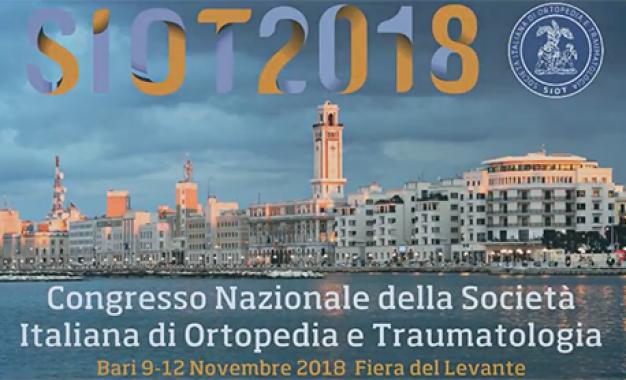Congresso Siot 2018 <br>a Bari dal 9 al 12 novembre