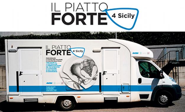Fondazione Firmo, tour in Sicilia <br>per campagna di prevenzione <br>dell'osteoporosi