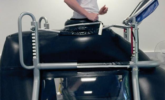 Tappeto anti gravità, dalla Nasa <br>ai centri di riabilitazione