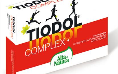 Tiodol Complex di Alta Natura: terapia di lunga durata per il mantenimento della funzionalità articolare