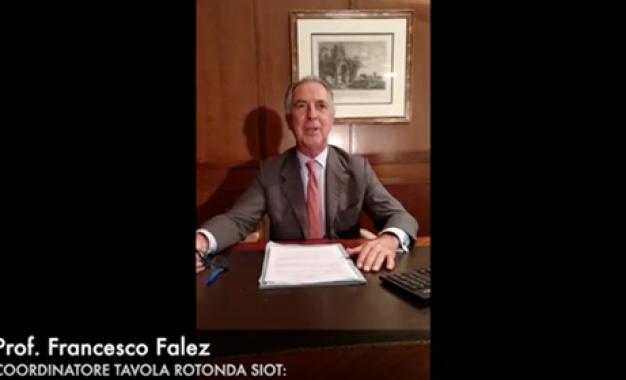 &#8220;Corrotti e corruttori&#8221; <br>Francesco Falez presenta la tavola <br>rotonda al Congresso Siot di Bari