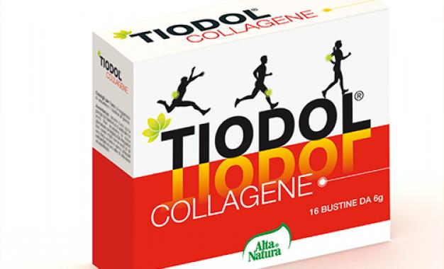 Tiodol Collagene, un supplemento <br>per bilanciare il deficit nutrizionale <br>e fisiologico di collagene
