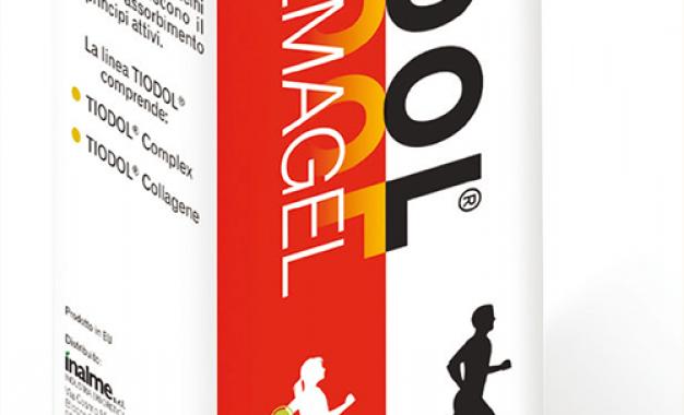 Tiodol Cremagel: coadiuvante <br>nella guarigione di lesioni muscolari <br>e traumi articolari